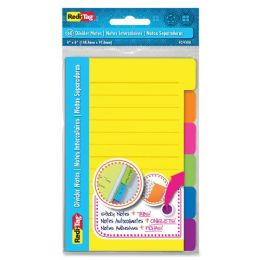 168 of RedI-Tag 4x6 Sticky Ruled Divider Notes