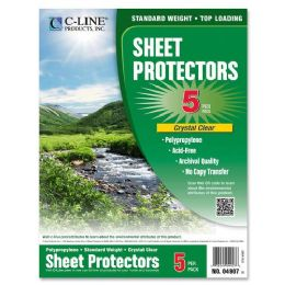 480 of C-Line Specialty ToP-Loading Sheet Protectors