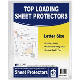 C-Line Standard Weight Sheet Protector