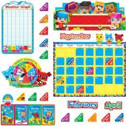48 of Trend Blockstars Calendar Bulletin Board Set