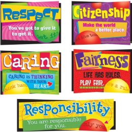 60 of Trend Character Education Bulletin Board Set
