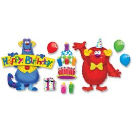 48 of Trend Furry Friends Birthday Fun Bulletin Board Set
