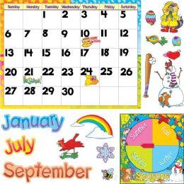 48 of Trend Monthly Calendar Bulletin Board Set