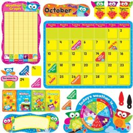 48 of Trend OwL-Stars Calendar Bulletin Board Set