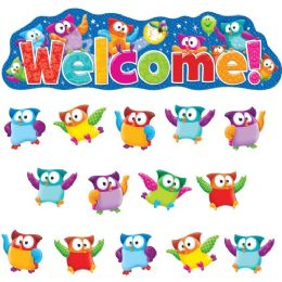 Trend OwL-Stars! Welcom Bulletin Board Set