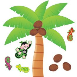 48 of Trend Palm Tree Bulletin Board Set