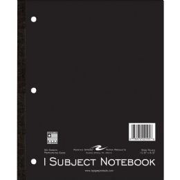Roaring Spring 1-Subject Tapebound Notebook
