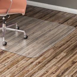 Lorell Nonstudded Design Hardwood Surface Chairmat
