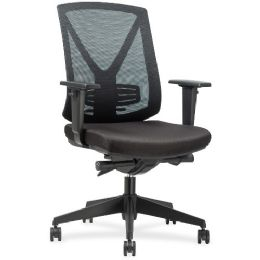 Lorell Steel Frame MiD-Back Chair