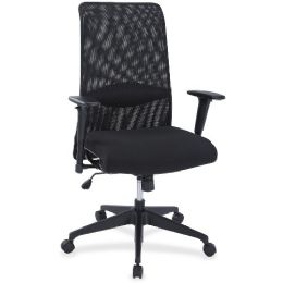 Lorell SynchrO-Tilt Mesh Back Suspension Chair