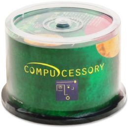 Compucessory Cd Recordable Media - CD-R - 52x - 700 Mb - 50 Pack Spindle