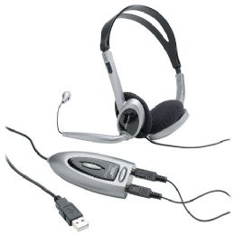 Compucessory Multimedia Usb Stereo Headset