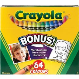 96 of Crayola 52-064d Crayon Set