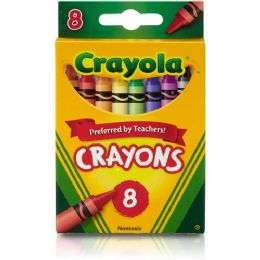 528 of Crayola Regular Size Crayon Sets 8 Pack