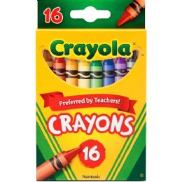 288 of Crayola Regular Size Crayon Sets 16 Count Pack
