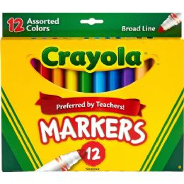 Crayola Conical Tip Classic Markers