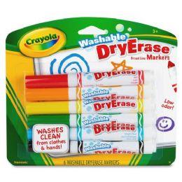 144 of Crayola Crayola DrY-Erase Washable Broadline Markers