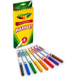 144 of Crayola Fine Tip Classic Markers