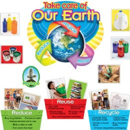 Trend Reduce/reuse/recycle Bulletin Board Set