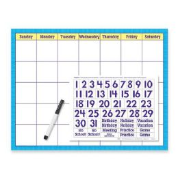102 of Trend WipE-Off Calendar Kit Cling Numeral