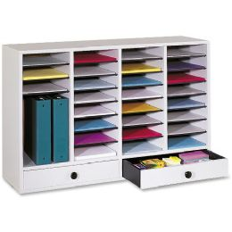 Safco 32 Compartments Adjustable Literature Organizer