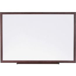 Lorell Wood Frame DrY-Erase Boards