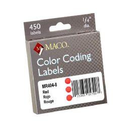 Maco Color Coding Label