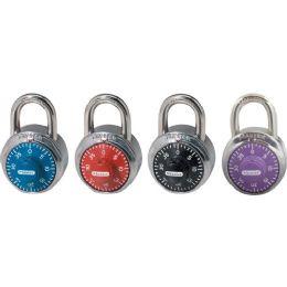 Master Lock Colored Dial Combination Padlock
