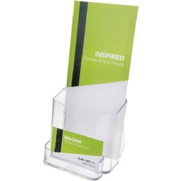DeflecT-O Countertop Leaflet Holder With Business Card Holder