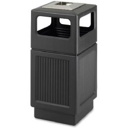 Safco Canmeleon Ash Urn 38-Gal Waste Receptacle