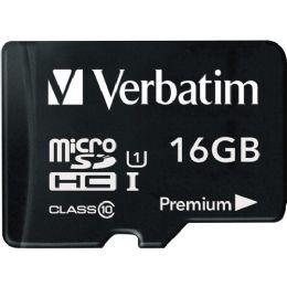 Verbatim 16gb Microsdhc Card (class 10) W Adapter