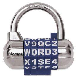 Master Lock SeT-YouR-Own Password Plus Combination Padlock