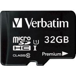 Verbatim 32gb Microsdhc Card (class 10) W Adapter