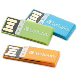 32 of Verbatim 4gb CliP-It 97563 Flash Drive - 3 Pack