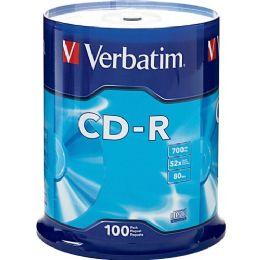 Verbatim 94554 Cd Recordable Media - CD-R - 52x - 700 Mb - 100 Pack Spindle