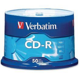 Verbatim 94691 Cd Recordable Media - CD-R - 52x - 700 Mb - 50 Pack Spindle