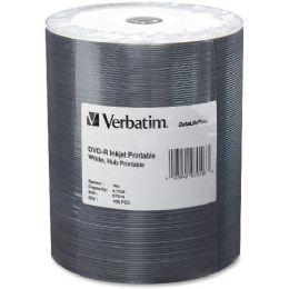 Verbatim 97016 Dvd Recordable Media - DvD-R - 16x - 4.70 Gb - 100 Pack Wrap
