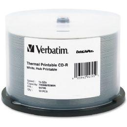 Verbatim Datalifeplus 94795 Cd Recordable Media - CD-R - 52x - 700 Mb - 50 Pack Spindle
