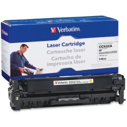 8 of Verbatim Hp Cc532a Compatible Yellow Toner Cartridge