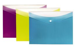 8 of Dual Pocket Snap Envelope, 3pk