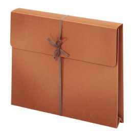 "50 of Wallet Envelopes With Tie Closures, Letter Size, 2"" Expansion"