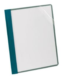 5 of Earthwise By Oxford 100% Recycled Clear Front Report Covers, Letter Size, Blue