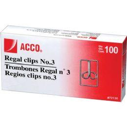Acco Regal Owl Paper Clips