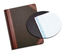 """6 of Adams Record Book, 7-5/8"""" X 9-5/8"""", 150 Pages"""