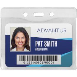75 of Advantus Horizontal Security Badge Holder