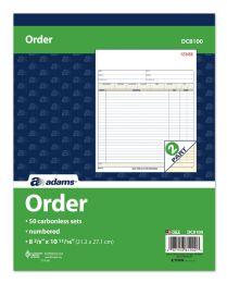5 of Sales Order Book, Carbonless, 2-Part, 50 St/bk