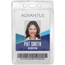 Advantus Vertical Security Badge Holder