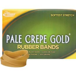 Alliance Rubber Pale Crepe Gold Rubber Band