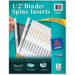 Avery Binder Spine Insert