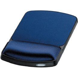 20 of Fellowes Gel Wrist Rest And Mouse Rest - Sapphire/black